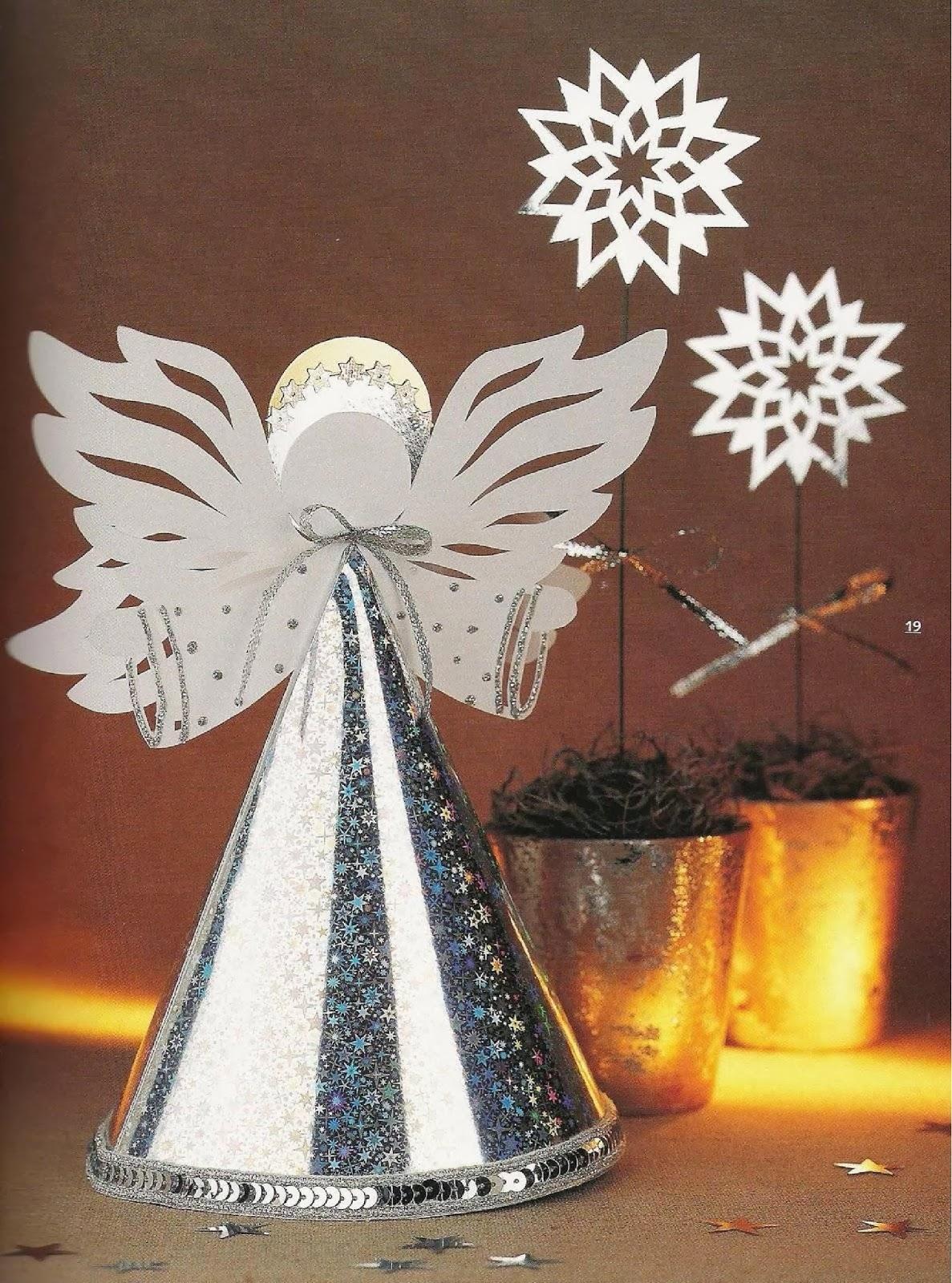 Новогодние поделки своими руками ангелочек
