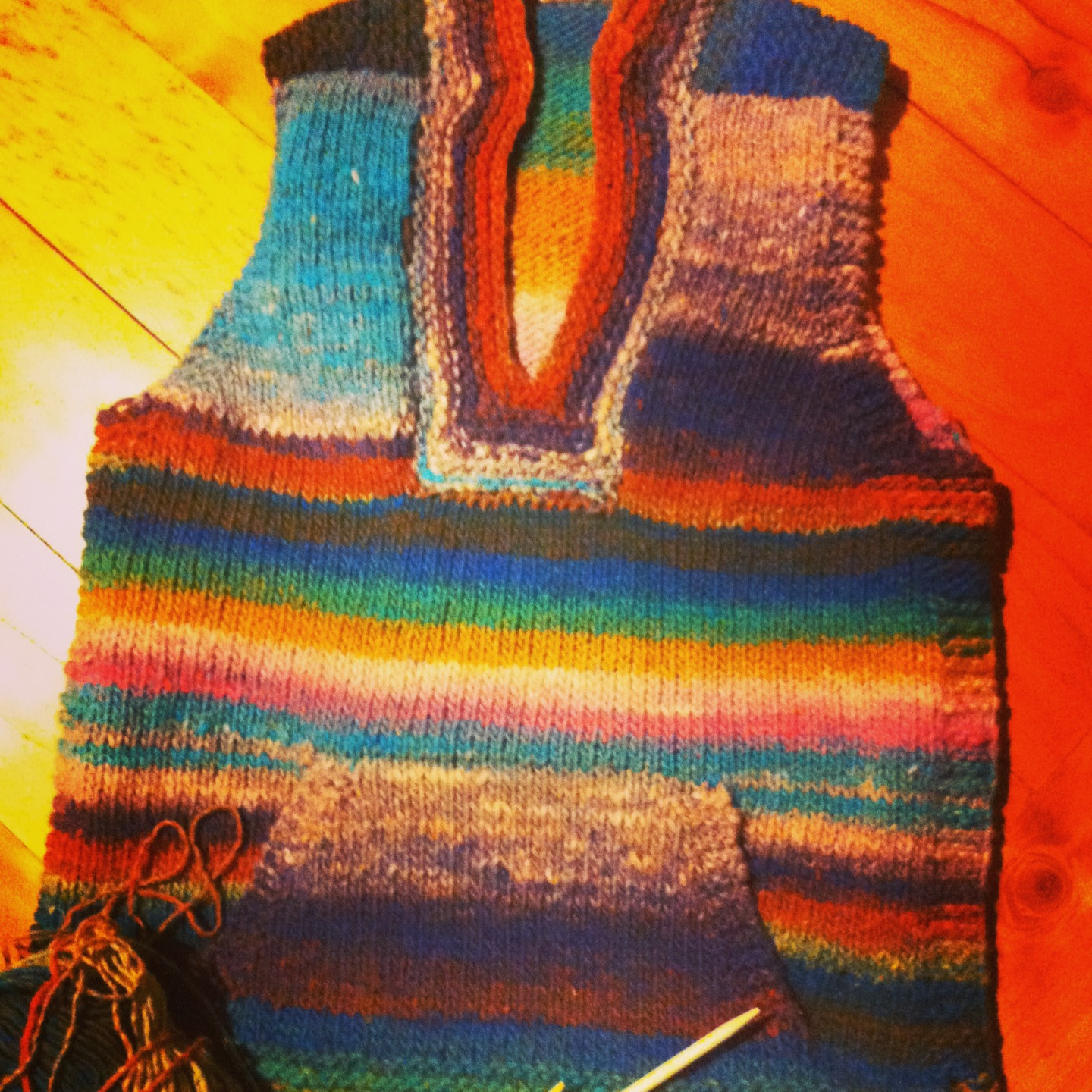 Happy Whimsical Hearts: A Knitted Birthday Vest