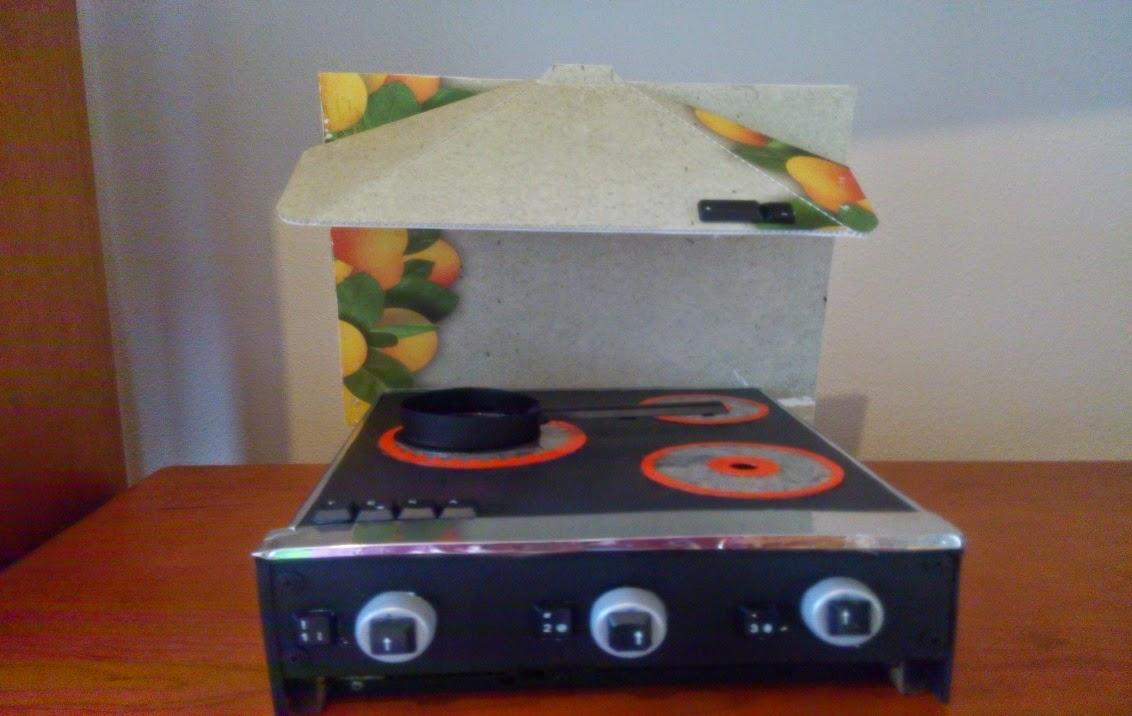 Minichefs juguete de cocina con material reciclado - Material de cocina ...