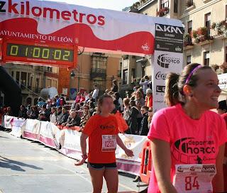 cronica 10 kms Leon