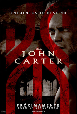 John Carter  Movie Logo Poster