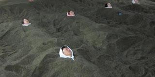 Mandi pasir
