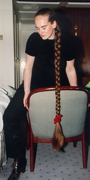 Petra Schlesinger photo - Braid Hairstyle for very Long Hair.