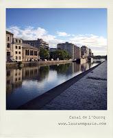 Canal de l'Ourcq © Laura Prospero