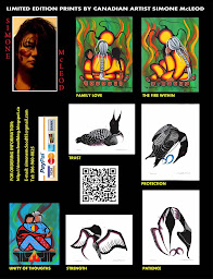 Simone McLeod's Art Brochure: