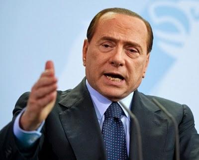 Silvio Berlusconi uveite foto