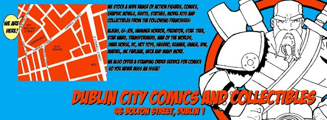 information for dublin city comics and its location
