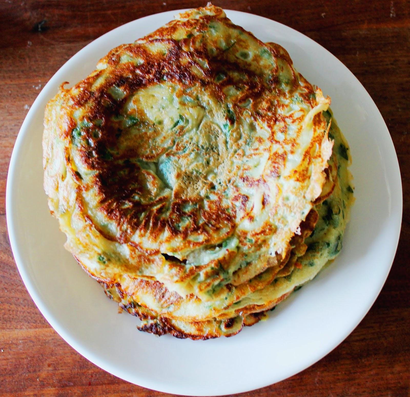 Nettle pancakes | Alinan kotona blog