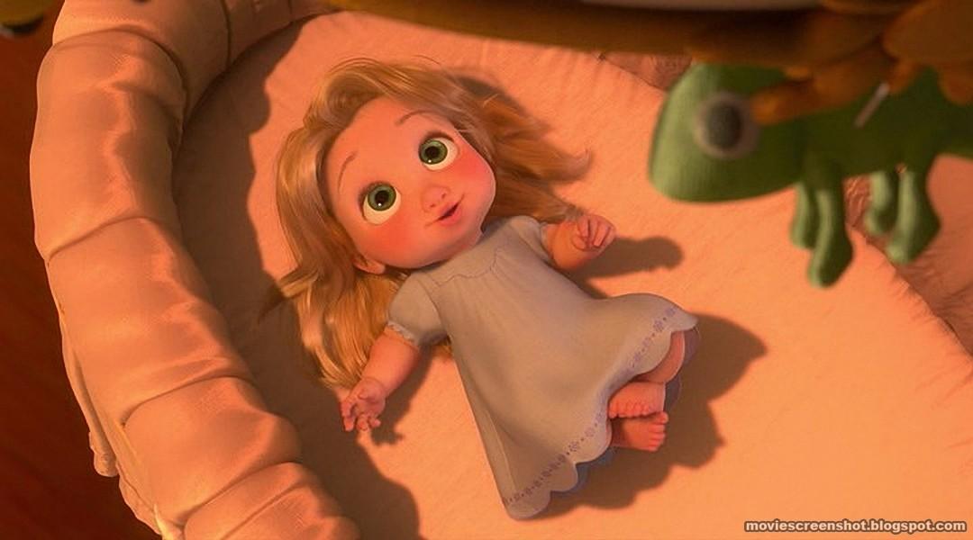 Tangled movie screenshots