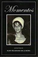 Nuevo libro de poemas de Alma Velazquez de la Mora
