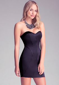 Look Of The Day: The Perfect 'Little Black Dress' For Valentine's Day Dress.