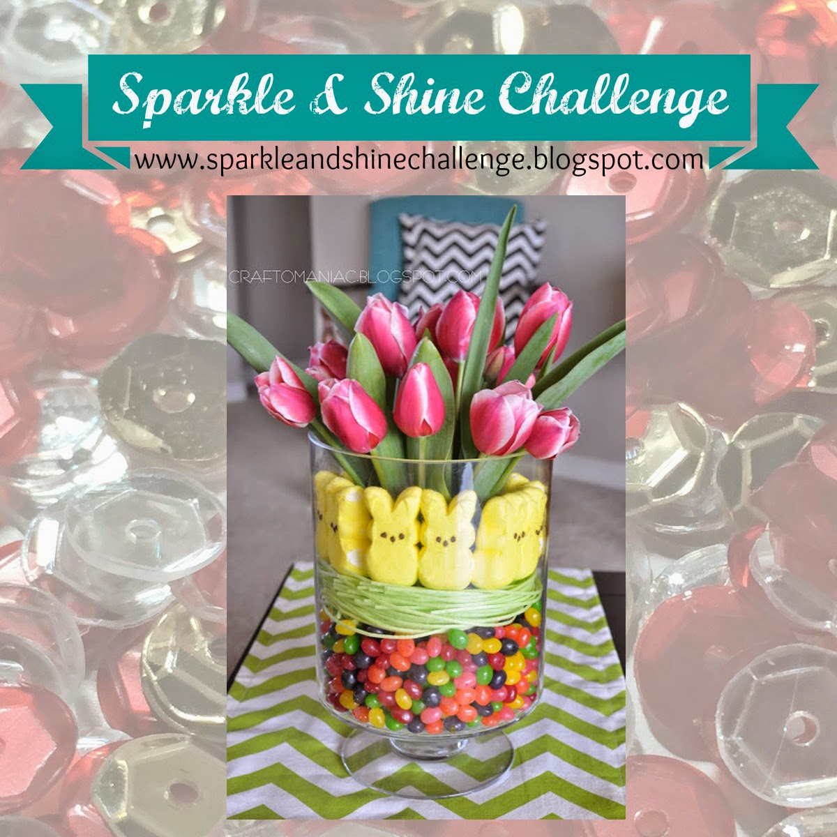 Sparkle & Shine Challenge Three