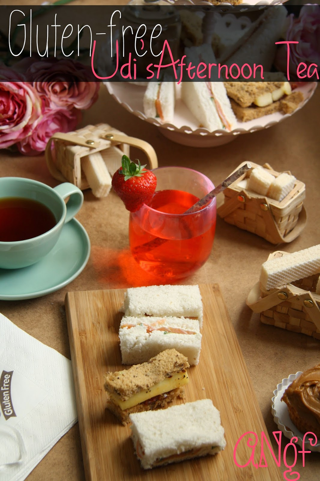 Gluten-free Afternoon Tea with Udi's from Anyonita-nibbles.co.uk