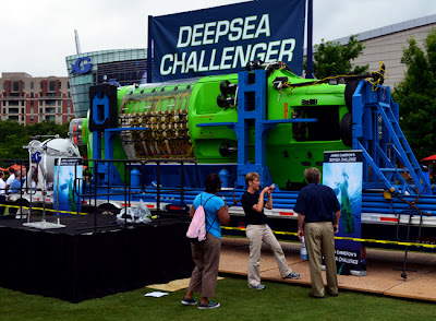 DeepSea Challenger at Georgia Aquarium