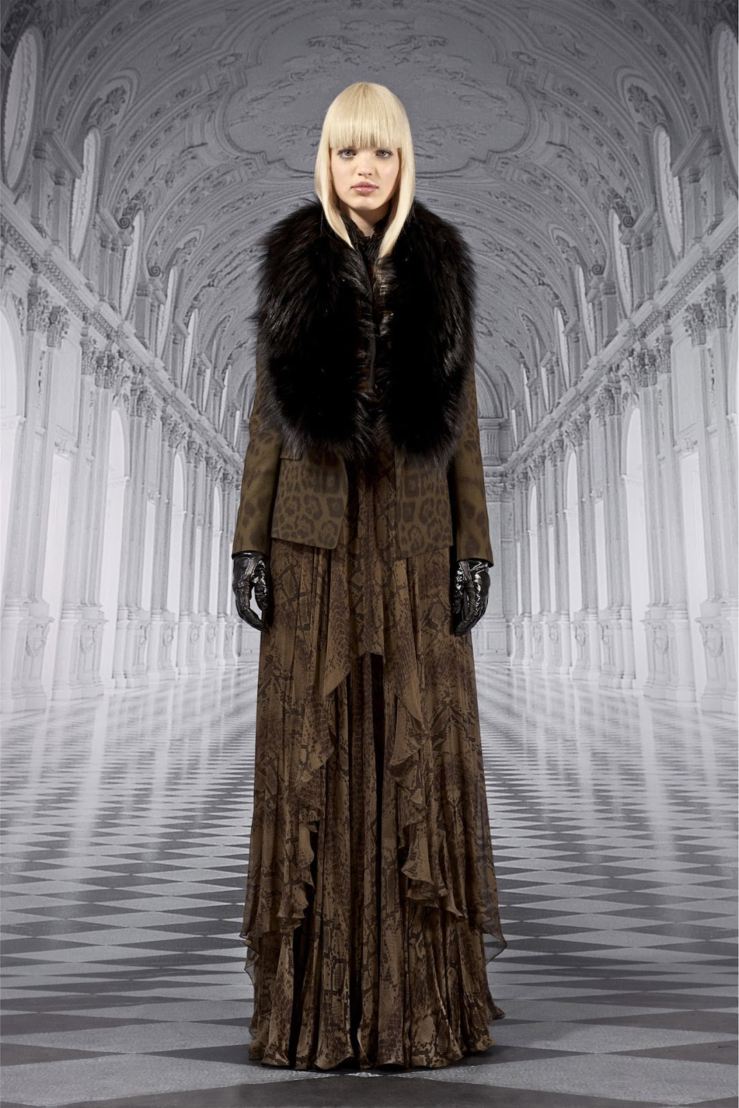 See Fall 2012 Campaigns From Roberto Cavalli, Balmain and More
