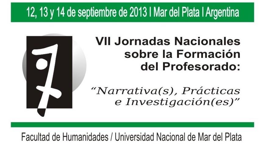 VII Jornadas Nacionales sobre la Formación del Profesorado