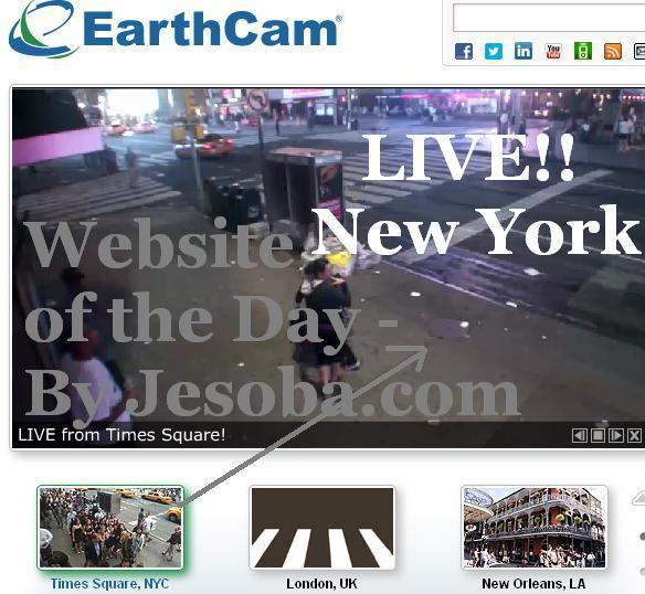 Web site of the day   Utility - Earth Cam Monday, 6th Aug, 2012
