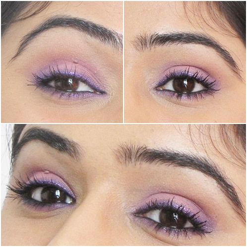 Pink and Purple Eye Makeup Look