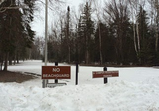 Excessive snow delays Michigan State Park campground openings in Upper Peninsula