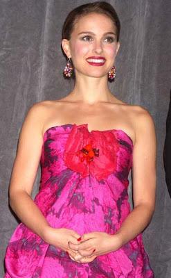 Natalie Portman Sterling Dangle Earrings