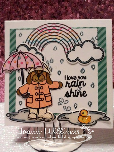 Sunny Studio: Rain or Shine Card by Jo Williams