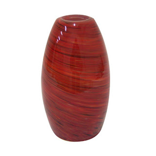 Jupiter Blaze Mini Pendant Glass, red pendant shade