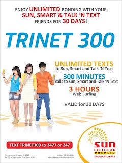 Sun Cellular Trinet 300