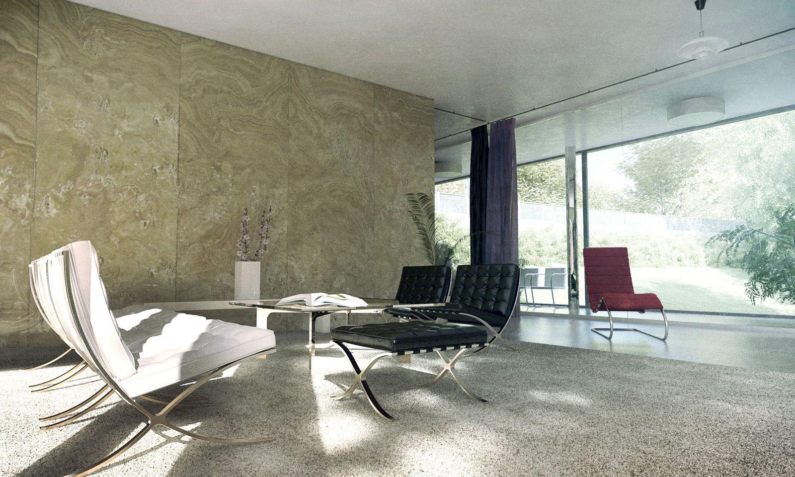 Mies van der rohe a f a s i a for Design apartment udolni brno
