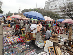Small Traders participate in  Labour Day celebrations (1st May 2012) in Kenya