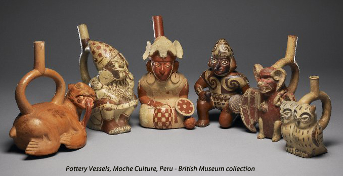 image gallery moche ceramics