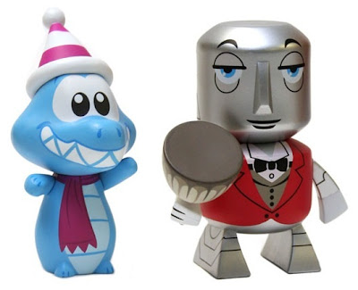 Disney Vinylmation Park Starz Series 1 - Ice Gator &amp; Horizons Robot