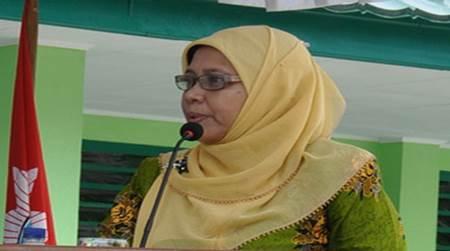 Foto dan Biodata Lengkap Siti Noordjannah DJ MSi. MM. Ketua Umum PP Aisyiyah 2015-2020