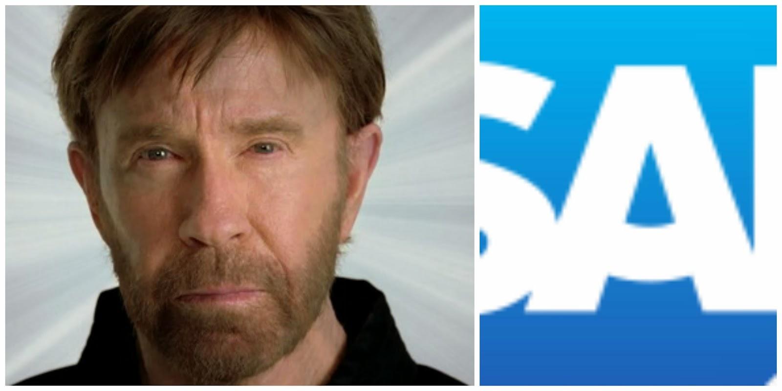 Chuck Norris vs SAP