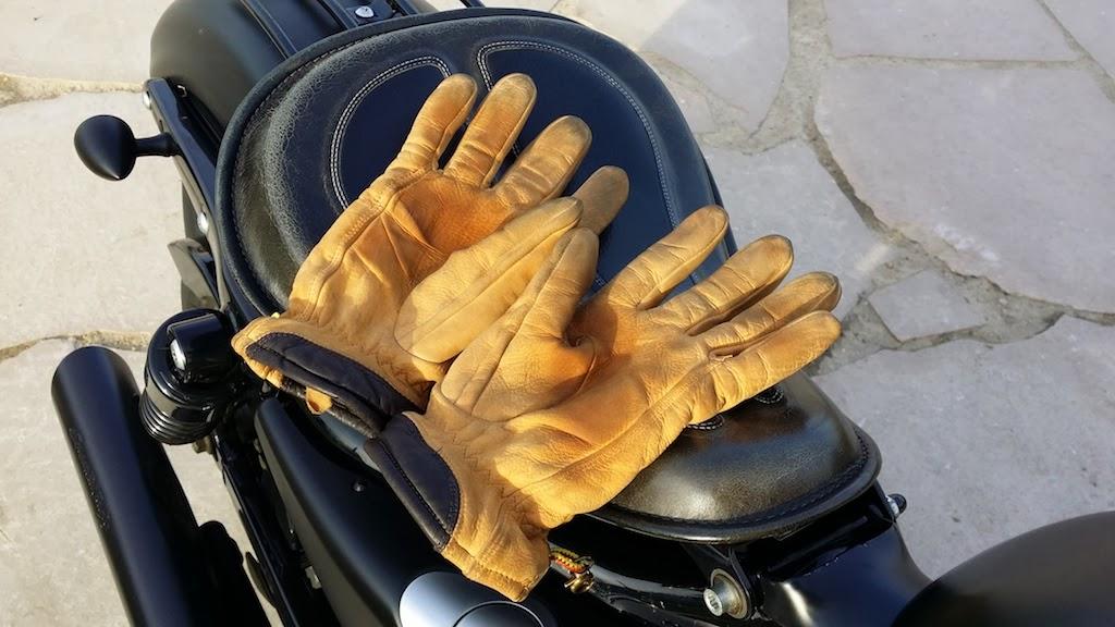 gants en cuir homme timberland