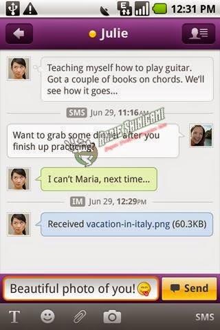 Cara Baru Download dan Menggunakan YM di Android