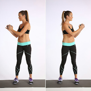 Standing Weighted Twist Abs Workout