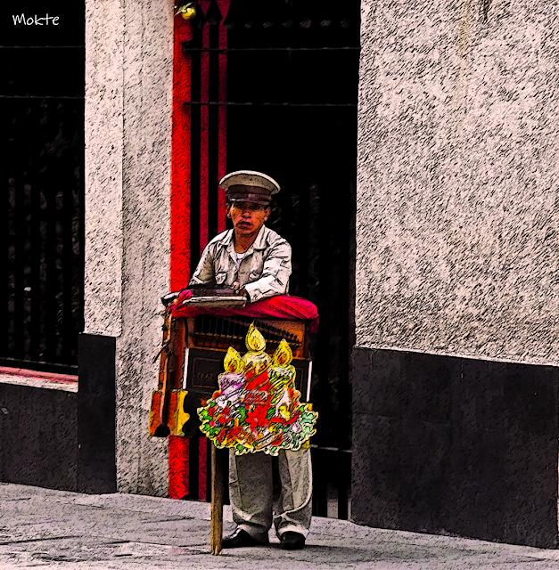 La historia del Organillero en la Ciudad de México