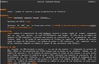 Cambiando permisos a carpetas y archivos en Fedora