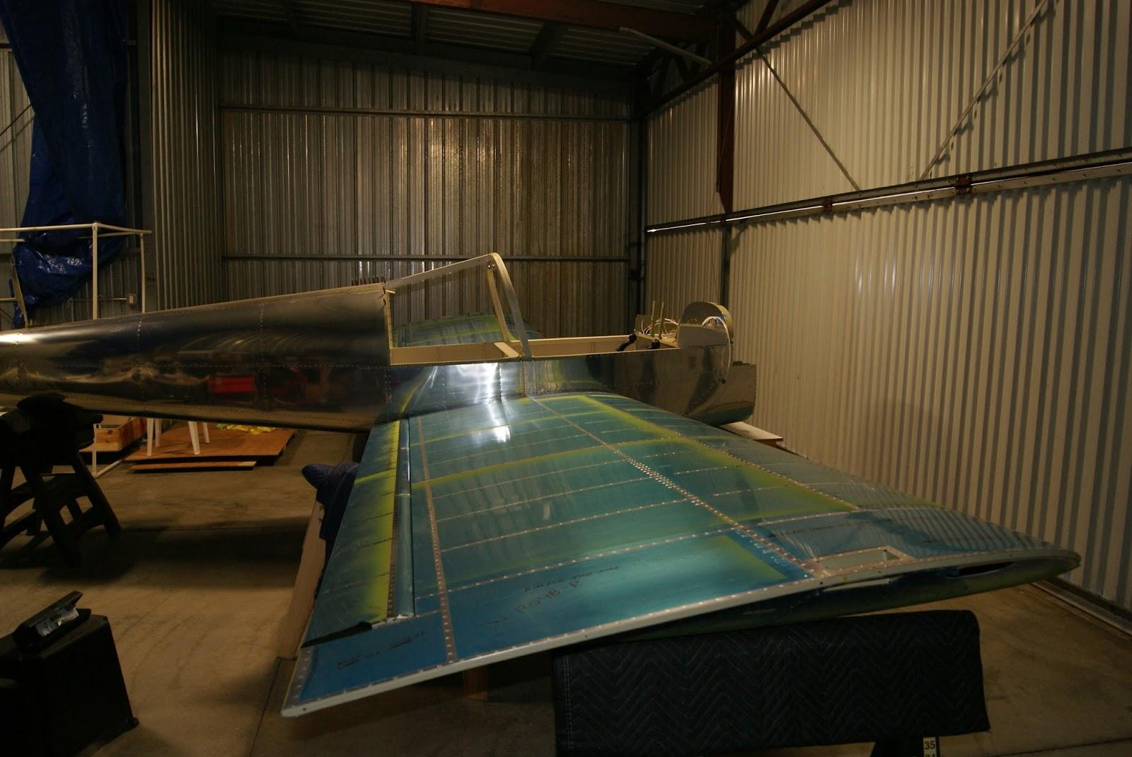 DOG Aviation John's RV-12 Blog: Match Drilling The WD-1214 Flaperon on