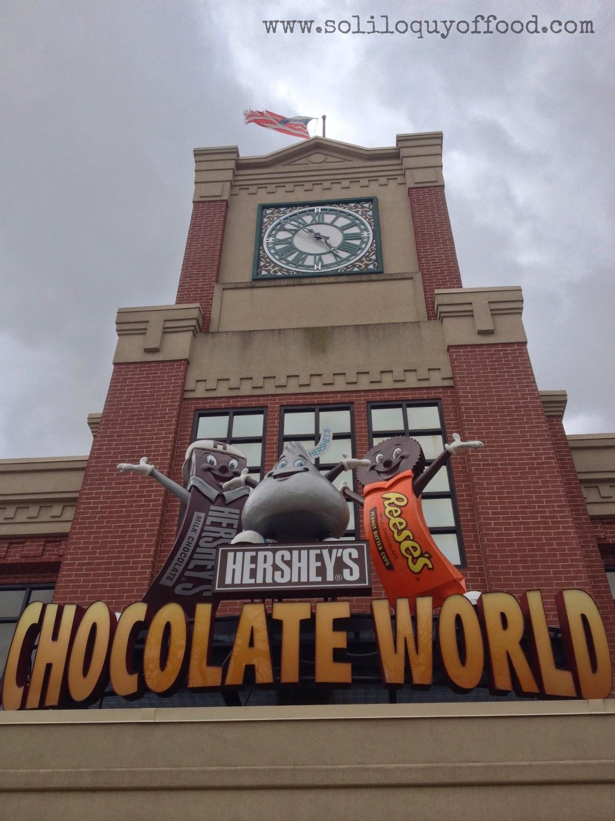Chocolate World, Hershey, PA USA - www.soliloquyoffood.com