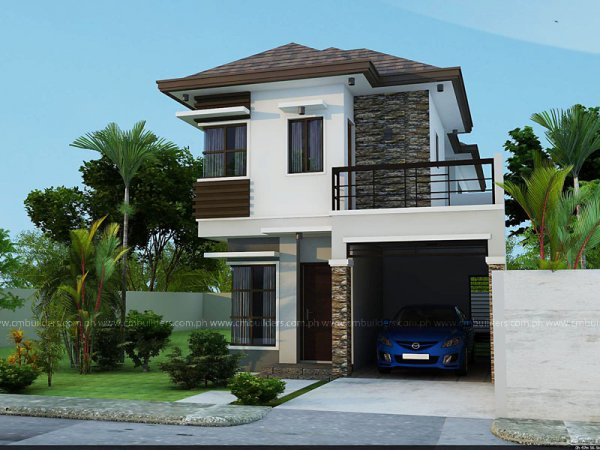 God 39 s best gift zen type houses for Simple house design with floor plan in the philippines