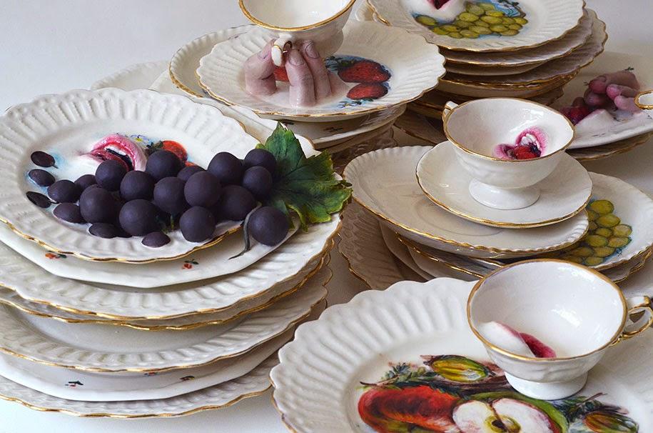creepy ceramic tableware ronit baranga-9
