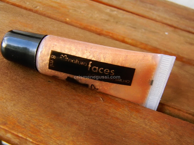 Gloss Natura Faces dourado