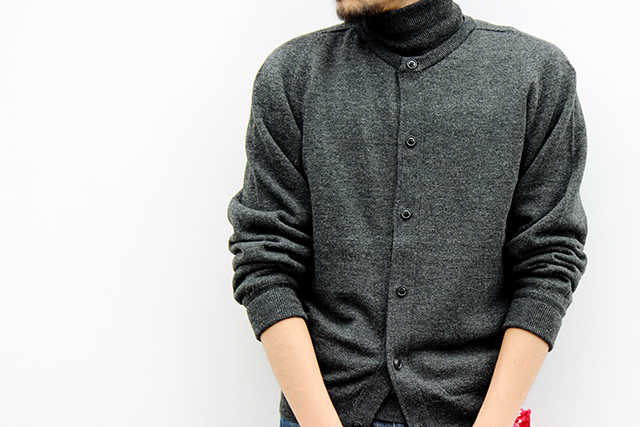 "ts(s) ""Turtle Neck + Crew Neck Cardigan Twin Set"" size 2 42,120yen"