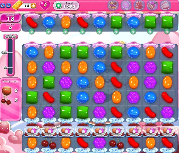 Candy Crush Saga 1503