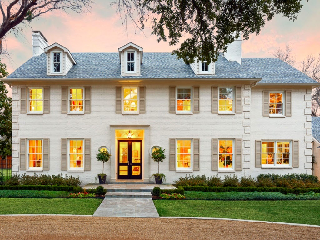 1000 images about home design on pinterest french style for Colonial brick
