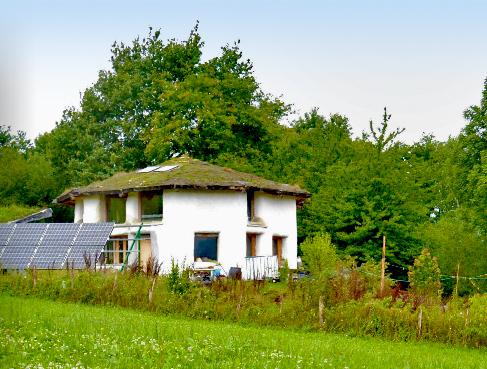 Строительства круглого дома