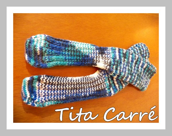 Socks Cuffs \ meia cano longo  multi tons de azul