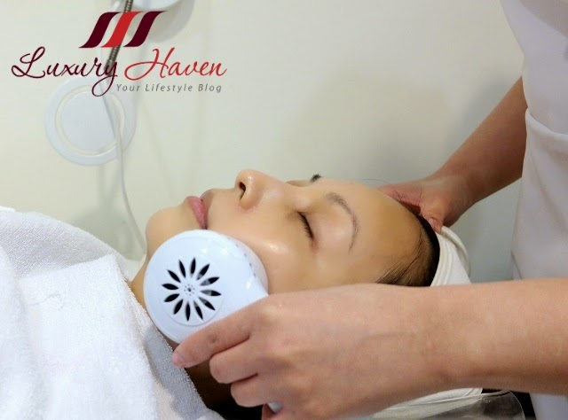 cold ultrasound treatment at eha clinic singapore