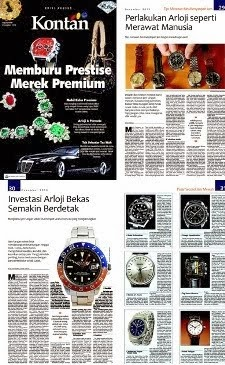 Maximuswatches on Tabloid KONTAN Edisi Khusus - Desember 2013